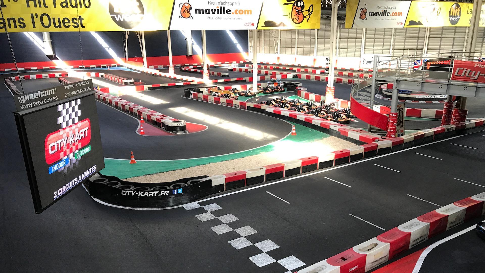 Piste Indoor de Karting à Nantes