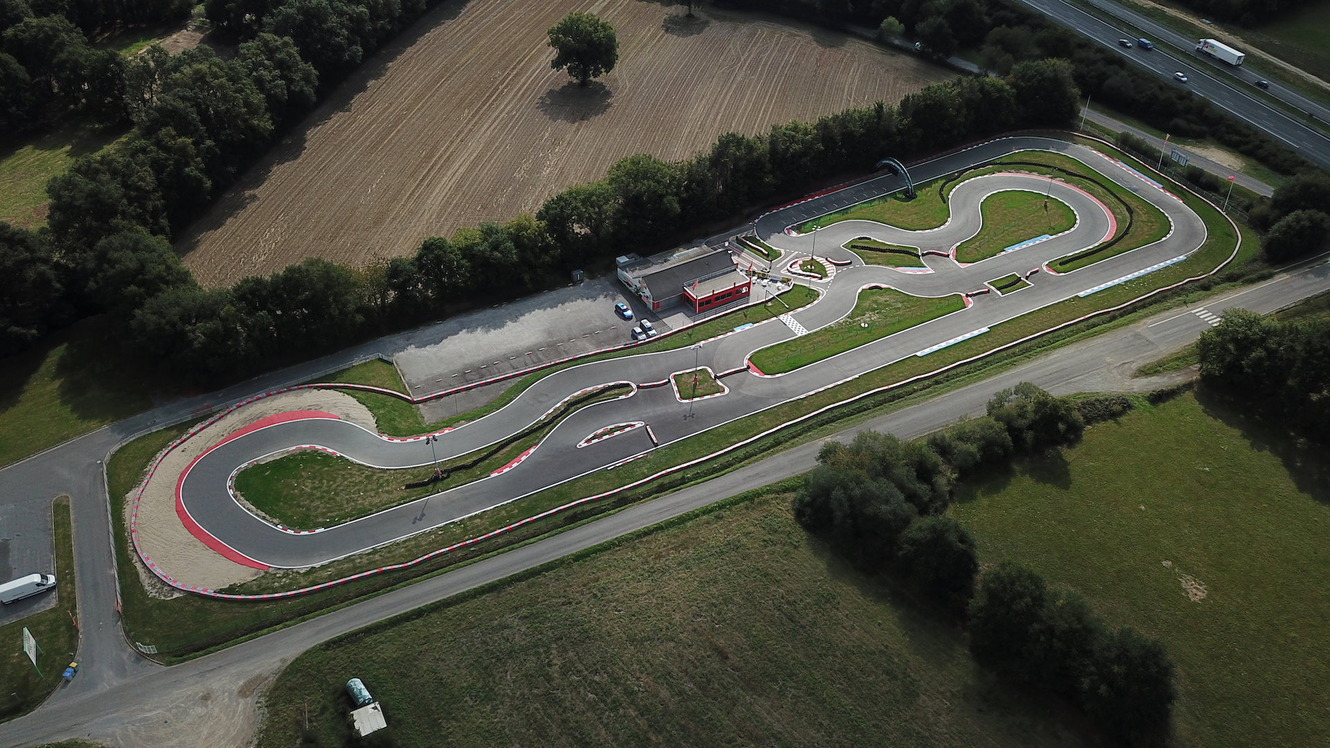 Circuit Outdoor de Karting à Nantes