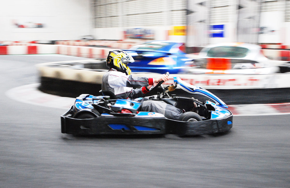 Karting Indoor à St-Sébastien