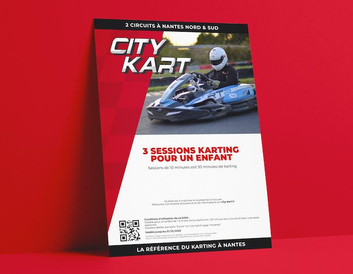 Bon Cadeau City Kart à Nantes