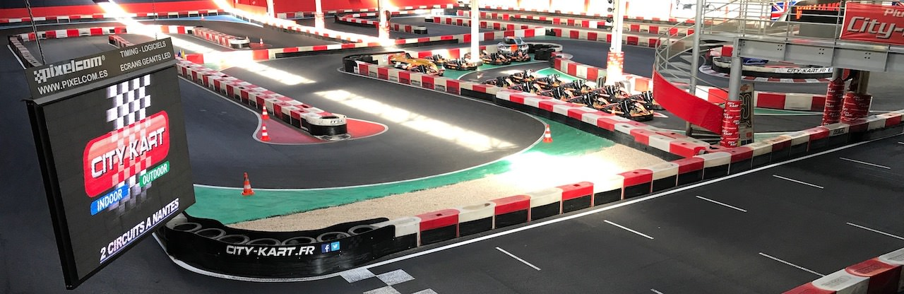 Circuit de Karting Indoor à Nantes