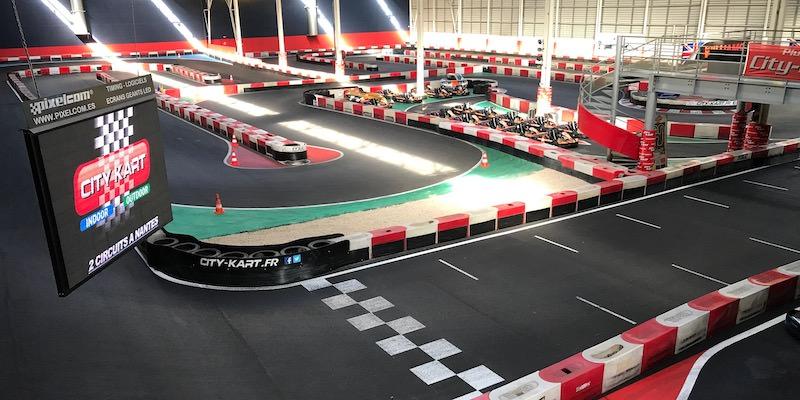 Circuit de Karting Indoor à Nantes
