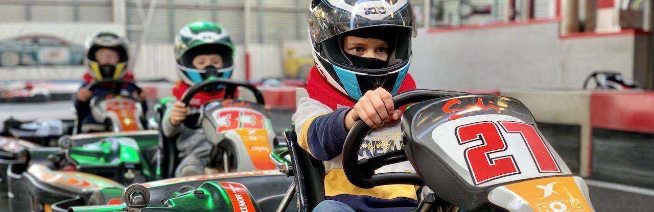 Stage de Pilotage karting pour les enfants à St-Sébastien, Nantes