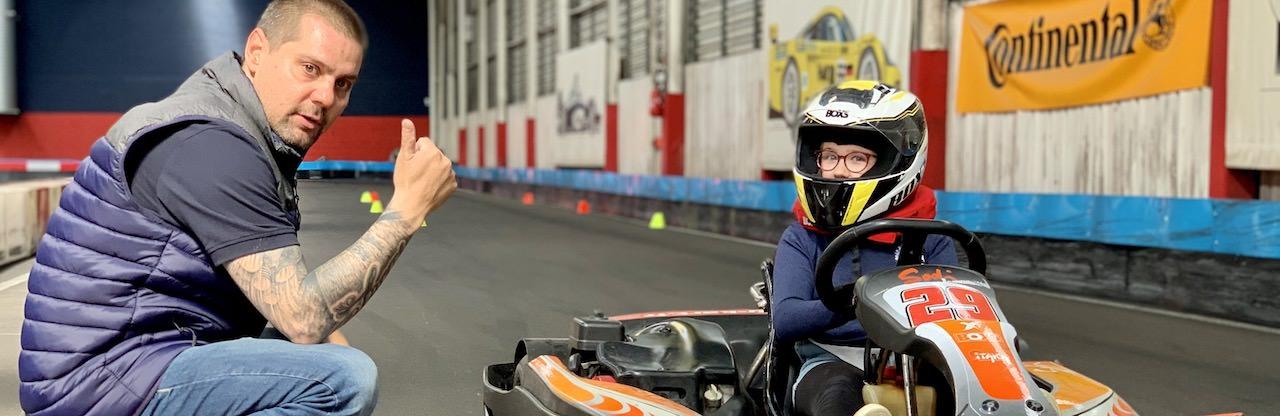 Stage de karting pour apprendre à piloter