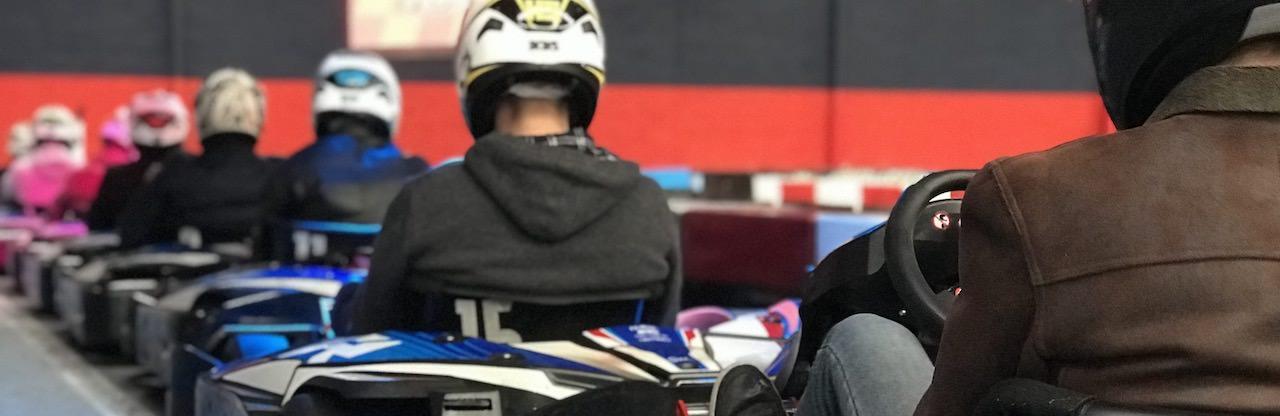 Challenge Karting pour Enterrement de vie de célibataire à Nantes